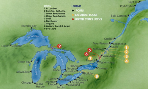 St. Lawrence Seaway opened June 26, 1959