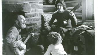"Poem: ""Pete Seeger and Arlo Guthrie at Riverfest, St. Paul, Minnesota"""
