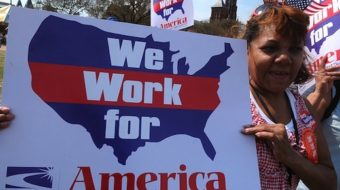 Unions descend on Capitol Hill for big immigration push
