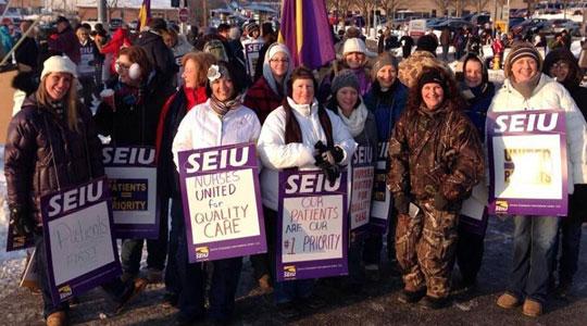 "Altoona nurses strike to put ""Patients before profits"""