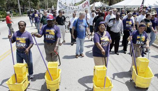 Los Angeles city workers demand good-faith bargaining