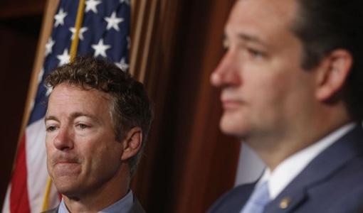 Despite tea party senators, government shutdown avoided for now