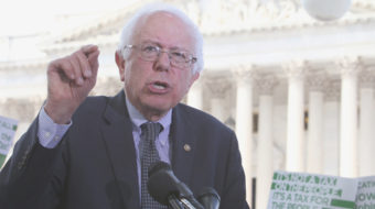 Sanders introduces Robin Hood Tax and free education bills