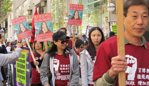 May Day strikes and actions dot the Bay Area