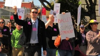 SF Symphony strikers protest out-of-tune execs