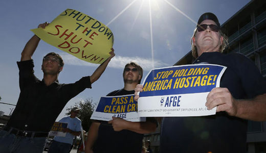 Shutdown puts hundreds of thousands in dire straits