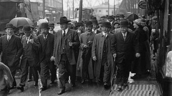 Today in labor history: N.J. mill strikers urged to keep fighting