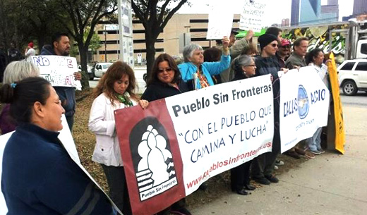 Dallas coalition holds action day for immigration reform