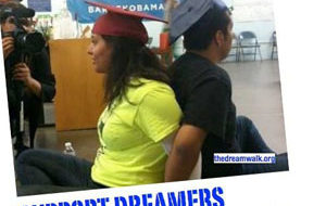 DREAMers end sit-in at Obama office