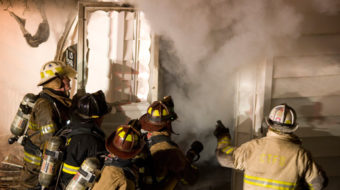 Firefighters battle cancer as well as flames in toxic homes