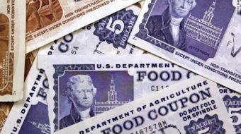 Food stamps on the chopping block