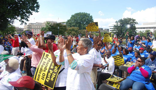 As elections approach, unions rev up fight for Social Security