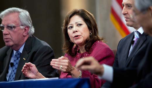 Secretary of Labor Solis signs migrant workers rights agreements with Latin American countries