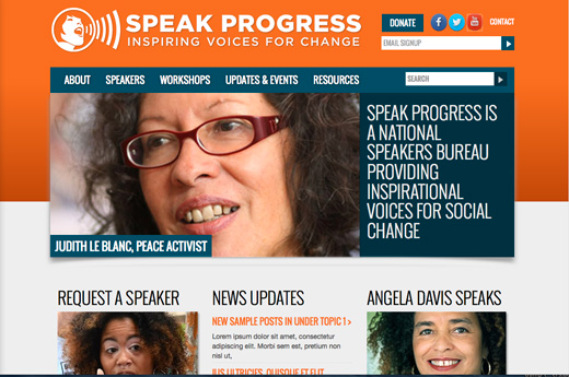"""Speak Progress"" activists coming to a venue near you"