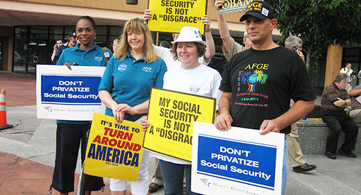Stop the Republicans from pulling the trigger on Social Security