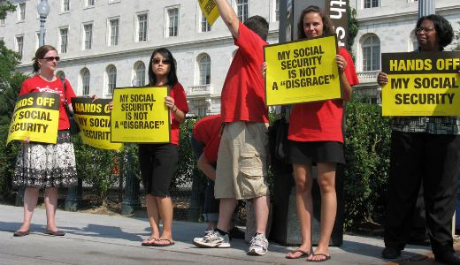 Ohio unionists want a march to protect Social Security