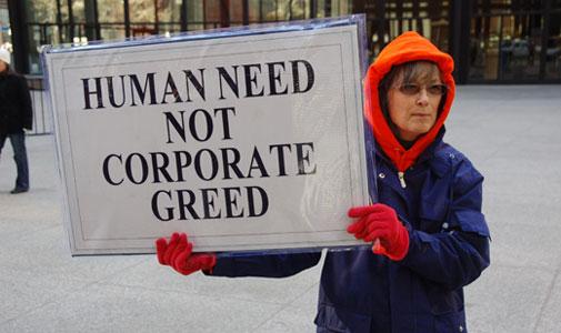 Unions blast flood of corporate campaign cash
