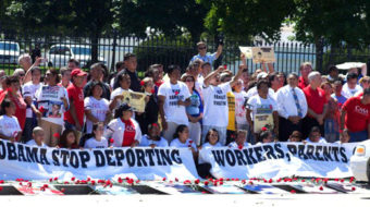 Peaceful immigration reform protesters target White House, get arrested