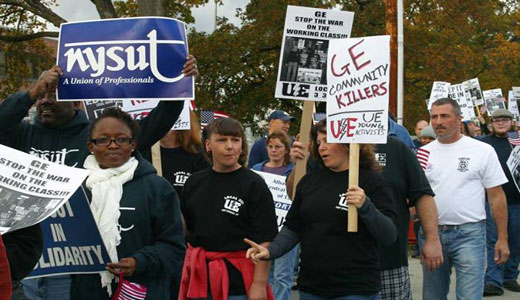 GE closing upstate NY plant, betraying workers, community