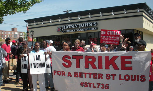 Fast food strikers teach some important lessons