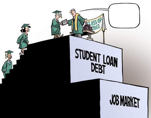 Soaring college costs, soaring student debt: a dysfunctional system