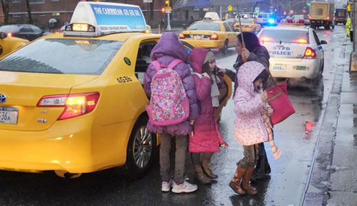 New York mayor's disregard for kids forces strike