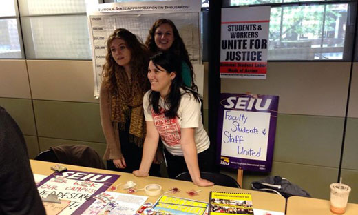 Students empower themselves through union solidarity