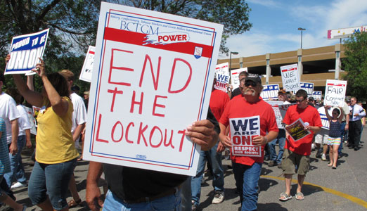 Locked out workers plan 1,000-mile Journey for Justice