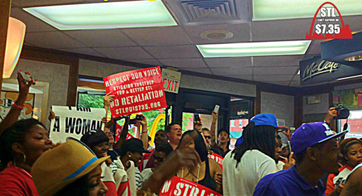 St. Louis fast food workers fight discrimination