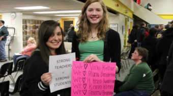 Strongsville teachers strike for quality education