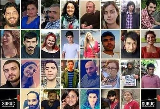 Turkey: 30 young socialists massacred in Suruç suicide bombing