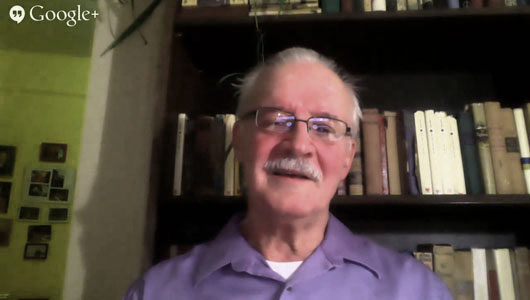 Google hangout with Sam Webb discusses today's issues, socialism  (with video)