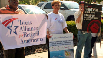 North Texas takes stand to save the right to retire