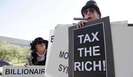 The 99%, as citizen tax enforcers, highlight Buffet Rule