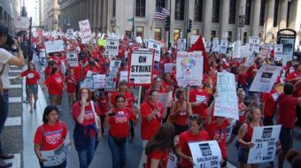 Teacher Appreciation Week in Chicago: a cut in pay?