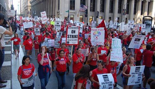 Teacher Appreciation Week in Chicago: a cut in pay?