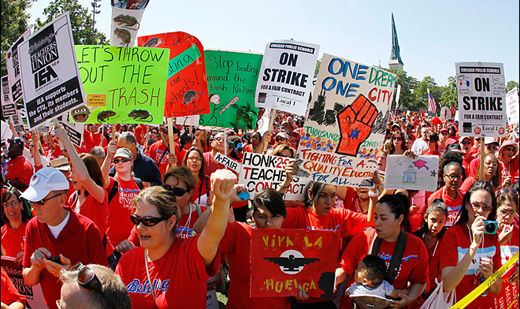 Chicago teachers plan April 1 strike for public education