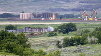 North Dakota park threatened by oil, gas drilling