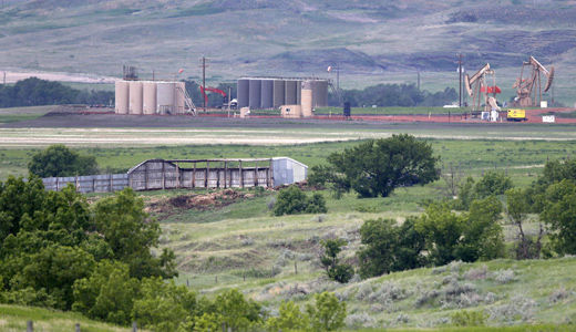 North Dakota park threatened by oil, gas drilling