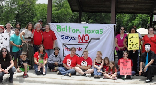 Anti-Monsanto rally draws Texas protesters