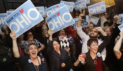 Ohio celebrates: Union-busting bill goes down by landslide