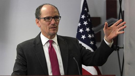 Labor Secretary boosts unions, praises new models of organizing
