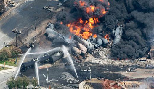 Devastating Quebec train crash reaffirms dangers of oil