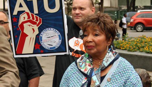 """Vote Transit"" says union!"