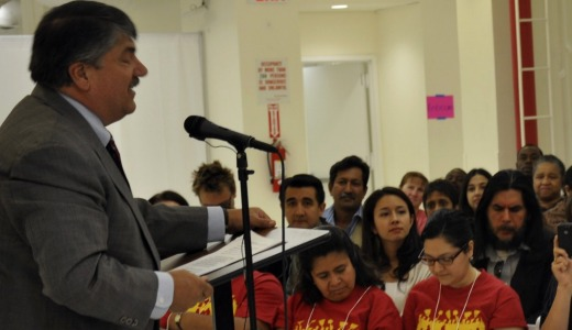 Unions link arms with advocates for immigrant workers