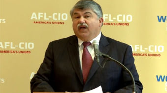 """Trumka: Voters said they were """"desperate"""" for new economic life"""