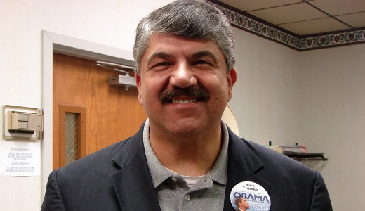 AFL-CIO head: If you're not supporting us we won't support you