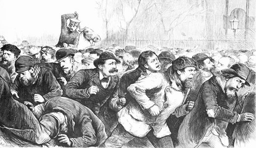 Today in labor history: Tompkins Square Riot
