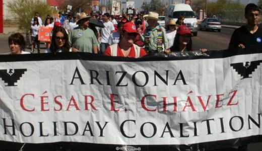 "Tucson's Cesar Chavez march says ""Save ethnic studies"""