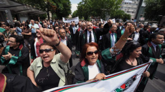 Lawyers assail police response to Turkey protest
